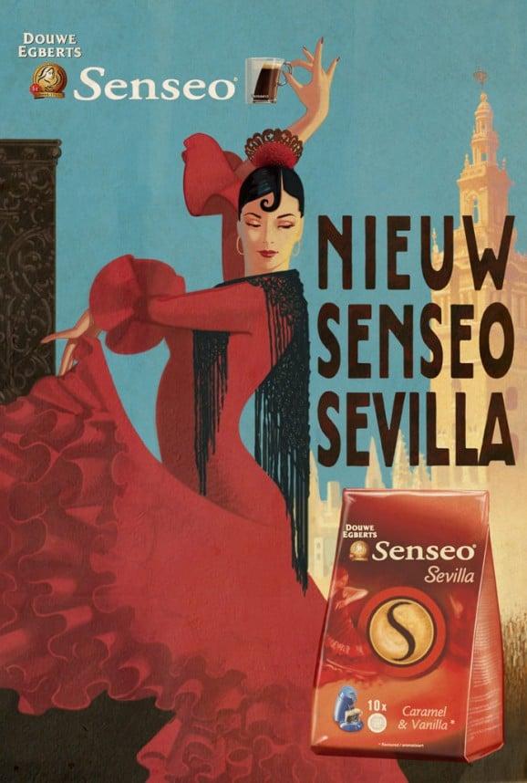 Senseo Poster