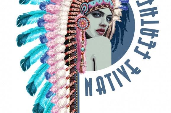 Studio 020 Native Feathers
